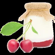 vanille & marille (Eis aus Berlin): Joghurt mit Sauerkirsche
