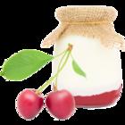 vanille & marille Sorte: Joghurt-Sauerkirsch (Eis aus Berlin)