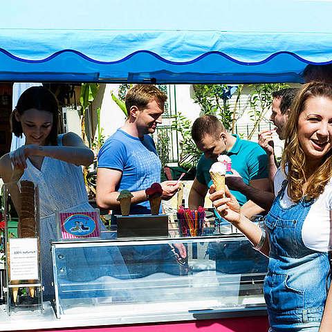 Eis-Catering: Sommerfest Berlin