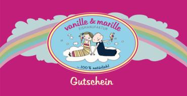 Eis Gutschein Berlin von vanille & marille