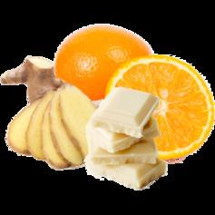 vanille & marille (Eis aus Berlin): Weiße Schokolade mit Orange und Ingwer