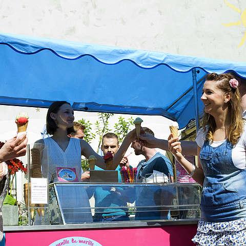 Eis-Catering: Sommerfest