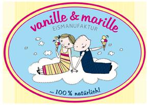 Vanille & Marille Eismanufaktur - Logo